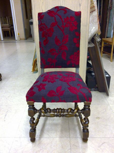 chaise louis xiii at si ges et d co. Black Bedroom Furniture Sets. Home Design Ideas